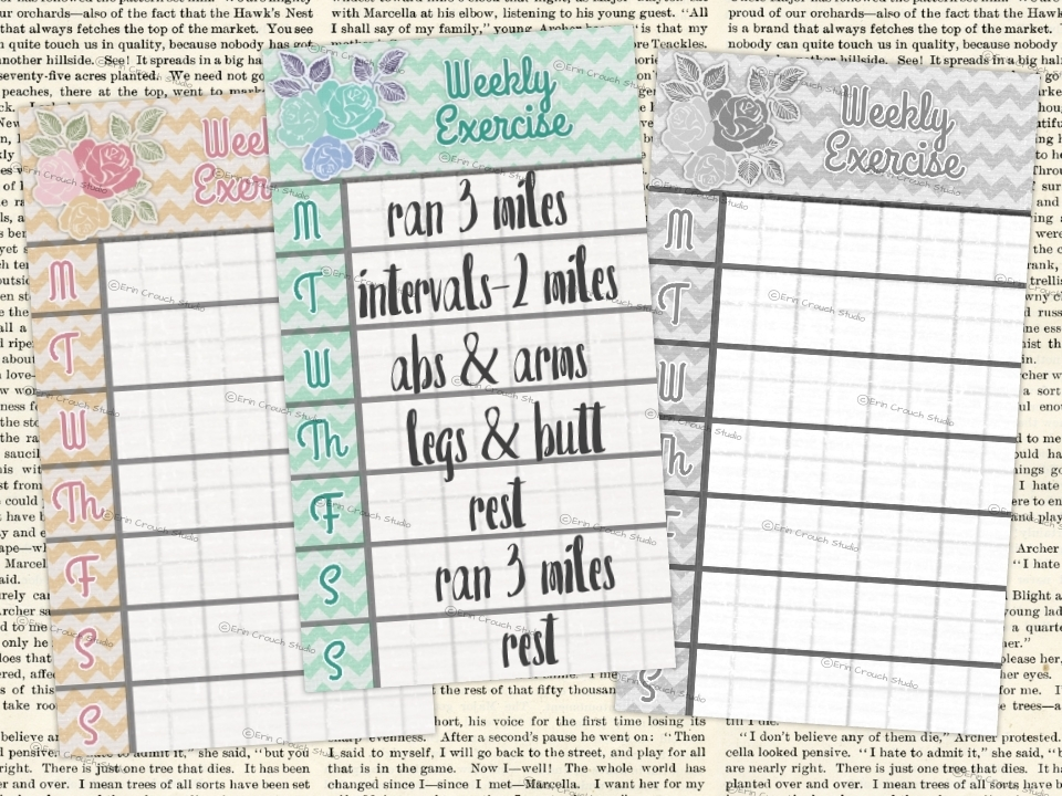 Erin Crouch Studio Planning for a Happy New Year {plus a freebie!} - multi year planner
