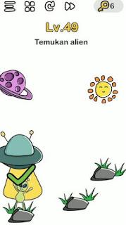 jawaban Temukan Alien Brain Out