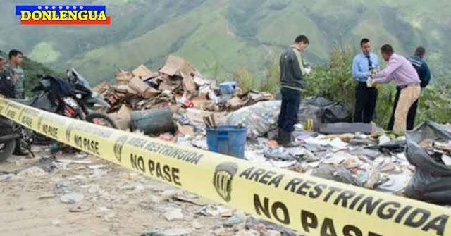 Cadáveres de 3 niños fueron encontrados en un basurero de los Valles del Tuy