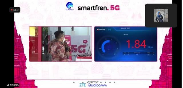 Hasil Uji Coba Jaringan 5G Smartfren Tahap Dua