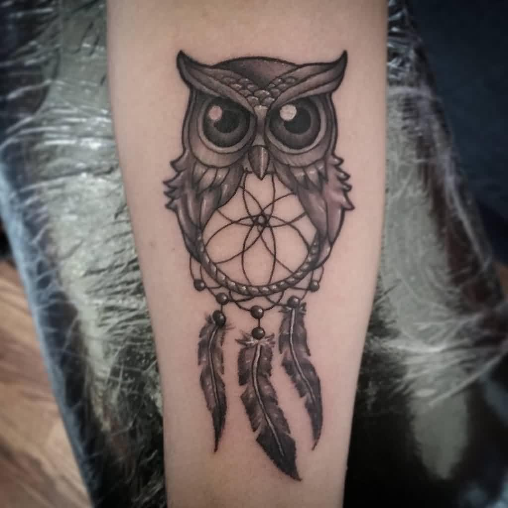 Dream Catcher Tattoo Design