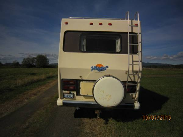 used rvs 1988 suncrest class a motorhome for sale for sale by owner. Black Bedroom Furniture Sets. Home Design Ideas