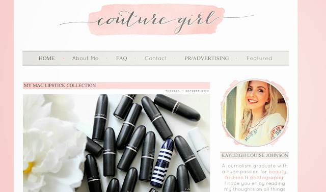 Couture girl blog