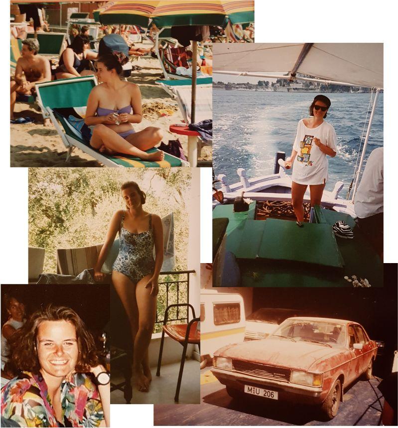 Dolce Vita, frühe 90er in Italien und Griechenland