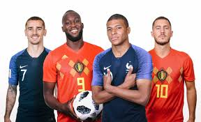 LIVE STREAMING WORLD CUP 2018 - FRANCE V BELGIUM