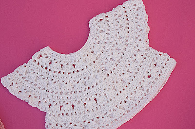 3 - Crochet Imagen Falda para canesú cuadrado a crochet Majovel crochet
