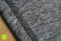 Nähte: Laufhose Damen capri mit Hüfttasche für Handy Leggings Fitness Sport tights schwarz muster yoga hose sporthose jogging farbig dreiviertel 3/4 lang von Formbelt