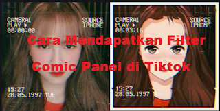 Comic panel filter | Cara mendapatkan comic panel filter boobs di tiktok