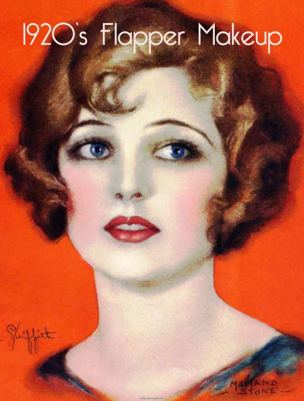 Vintage Pearl: The Look - 1920s Makeup