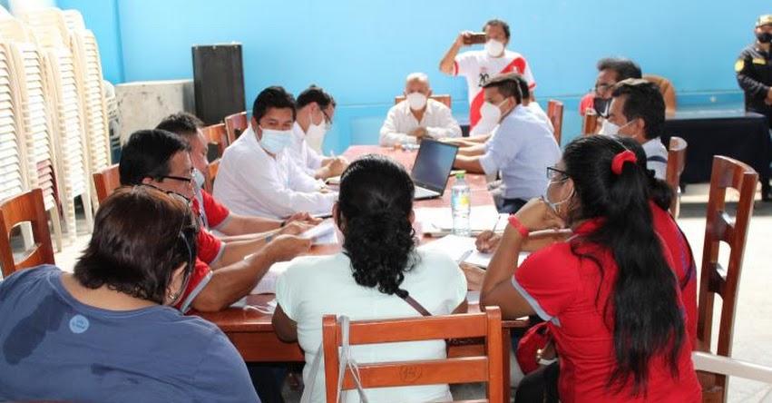 DRE Amazonas interviene para solucionar protestas en la UGEL Utcubamba - www.drea.gob.pe