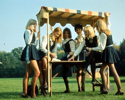 St Trinian's sixth form girls
