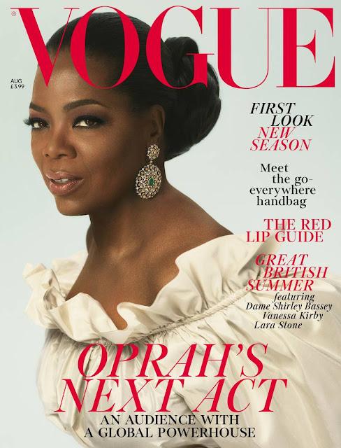 Oprah Winfrey: Cover of British Vogue 2018 Issue