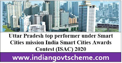 Uttar Pradesh top performer under Smart Cities mission