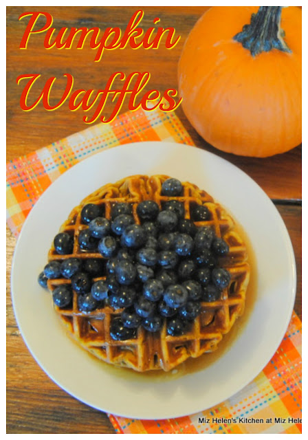 Pumpkin Waffle at Miz Helen's Country Cottage