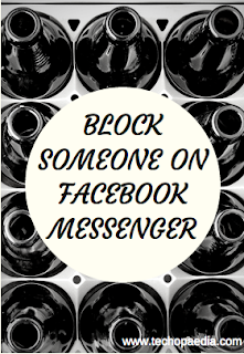 Block someone on Fb messenger