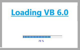 Cara Membuat Loading di Visual Basic 6.0