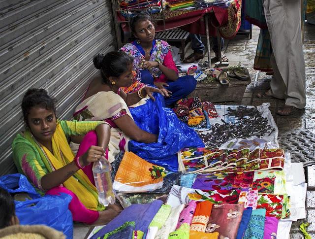 street, street shopping, ganesha festival, lalbaug, mumbai, india, colourful,
