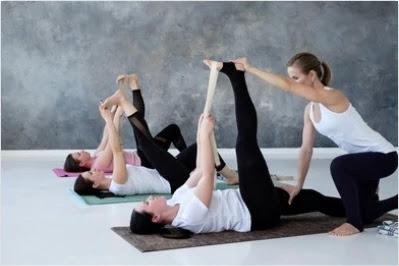lower back pain - Supta Padangusthasana exercise