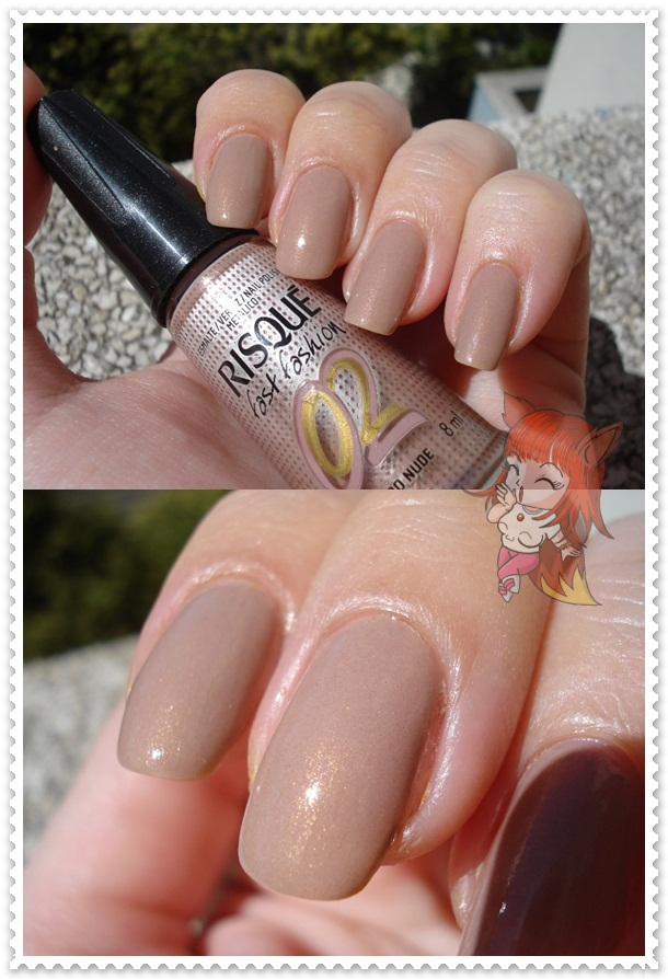 Esmalte Risqué :: Ouro Nude