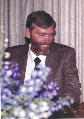 Robert Earl Burton portrait found in Fellowship of Friends teaching houses in 1984