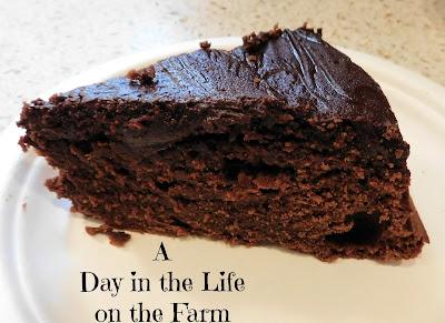 Malted Chocolate Cake with Irish Cream Ganache