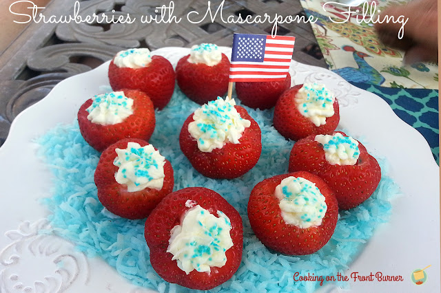 Strawberries with Mascarpone | Cooking on the Front Burner