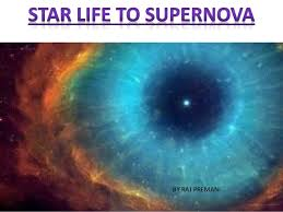 Star life to supernova