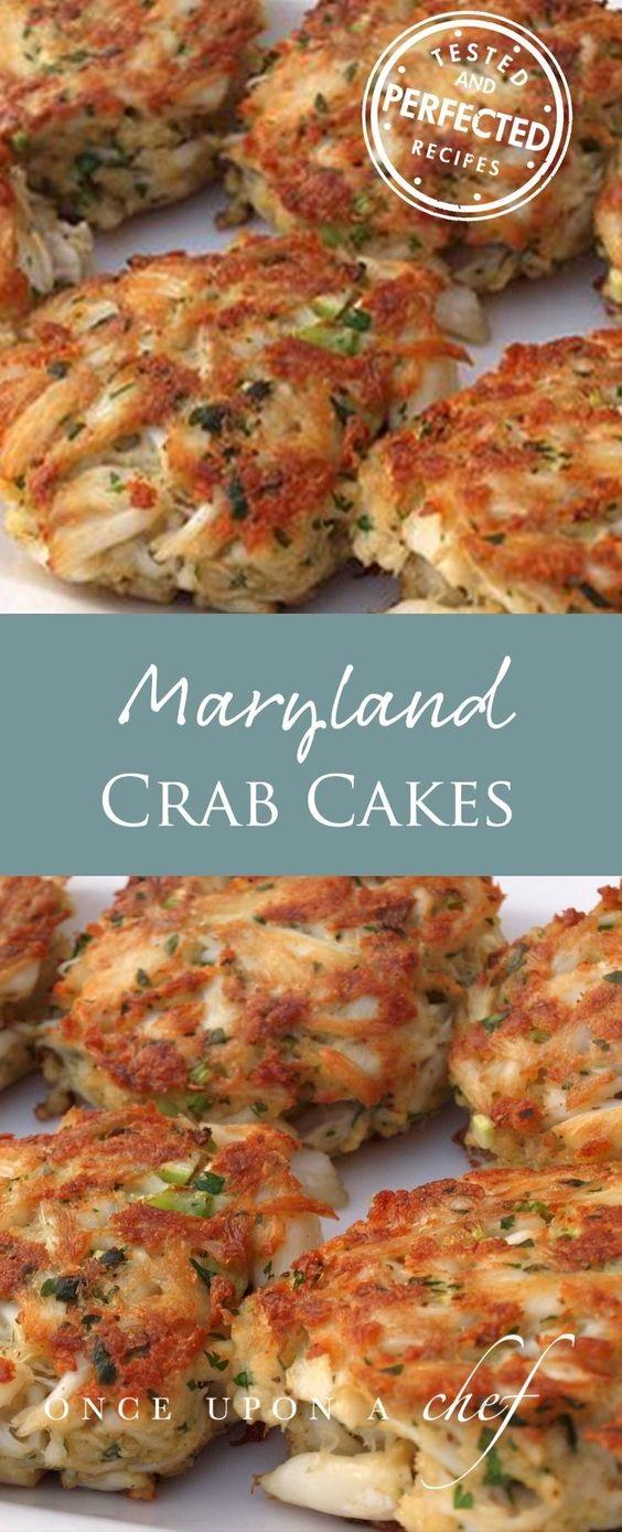 Maryland Crab Cakes With Quick Tartar Sauce