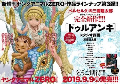 """Duranki"" es la nueva obra de Kentaro Miura."