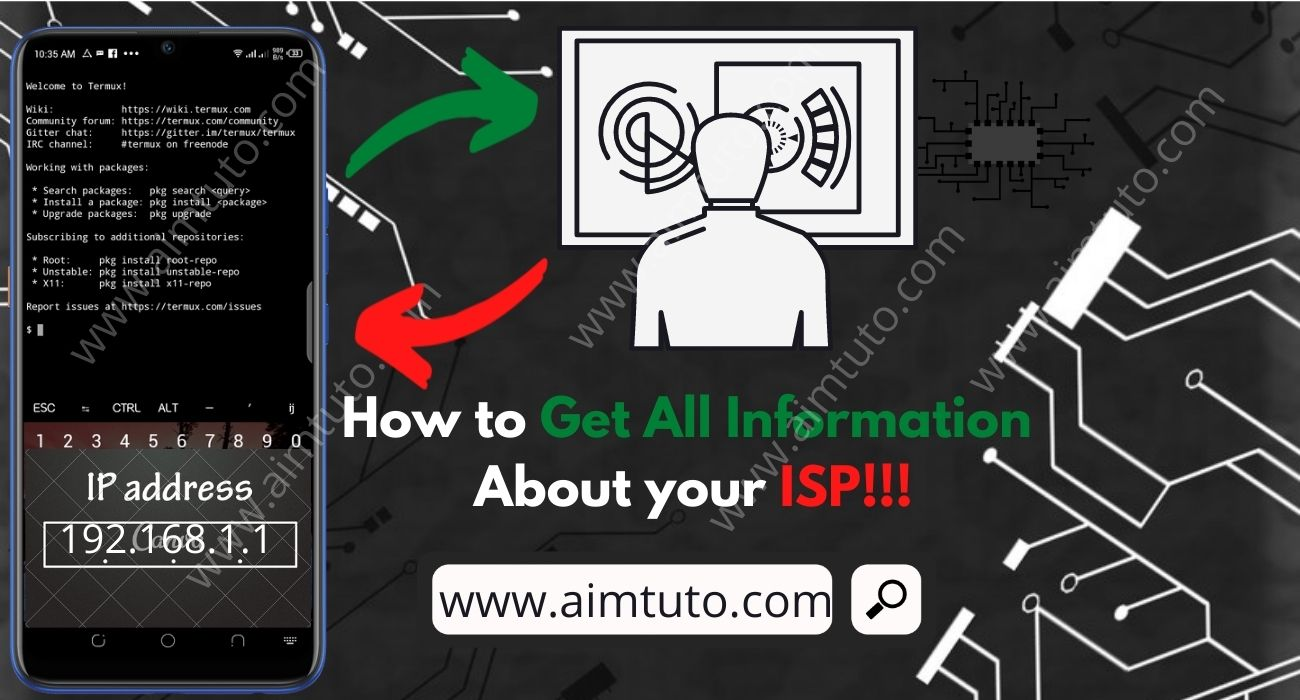 How to Get All Information about Your ISP Using Android