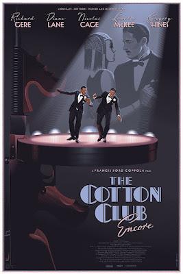 The Cotton Club Movie Poster Screen Print by Laurent Durieux x Mondo x Nautilus Art Prints