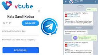 Cara Daftar Vtube di Telegram