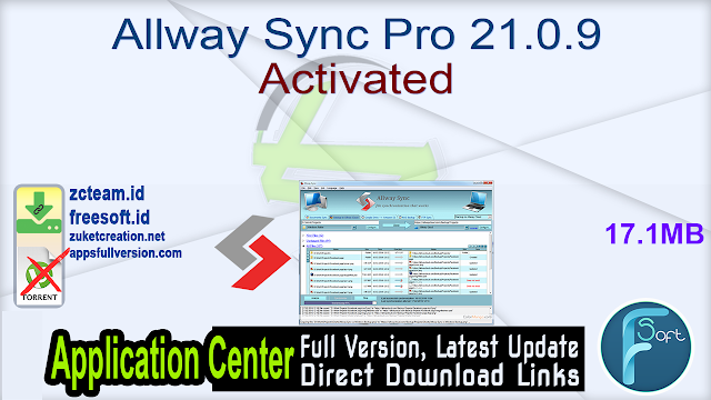 Allway Sync Pro 21.0.9 Activated_ ZcTeam.id