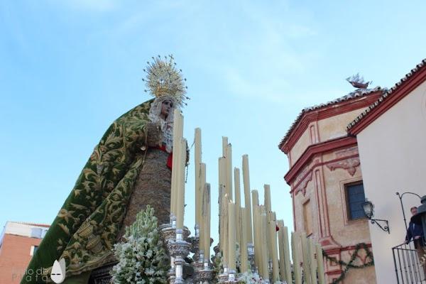 Los Sagrados Titulares de la Hermandad de la Esperanza de Málaga regresan a su Basílica