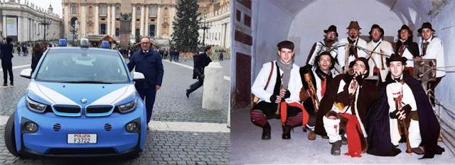 Gli Zampognari del Monte Gargano suonano a Roma. Donato Taronna li presenta ai popoli della Caput Mundi