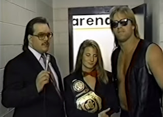 Smoky Mountain Wrestling - Fire on the Mountain 1993 Review - Brian Matthews interviews Tammy Fytch and Prime Time Brian Lee