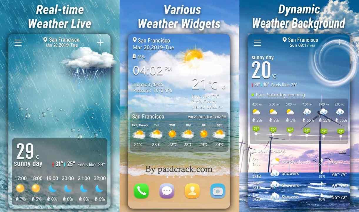 Weather Forecast Pro Mod Apk 1.9.9