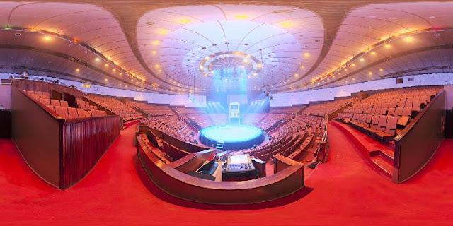 interior auditorium hdri - Downloads