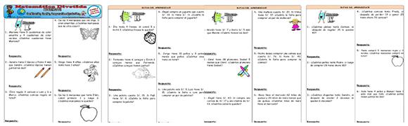 Problemas de Matemática tipo ECE ~ RUTAS DEL APRENDIZAJE