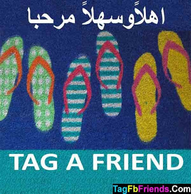Welcome in Arabic language