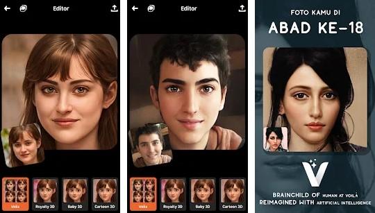 Kumpulan aplikasi edit foto jadi kartun terpopuler 2021