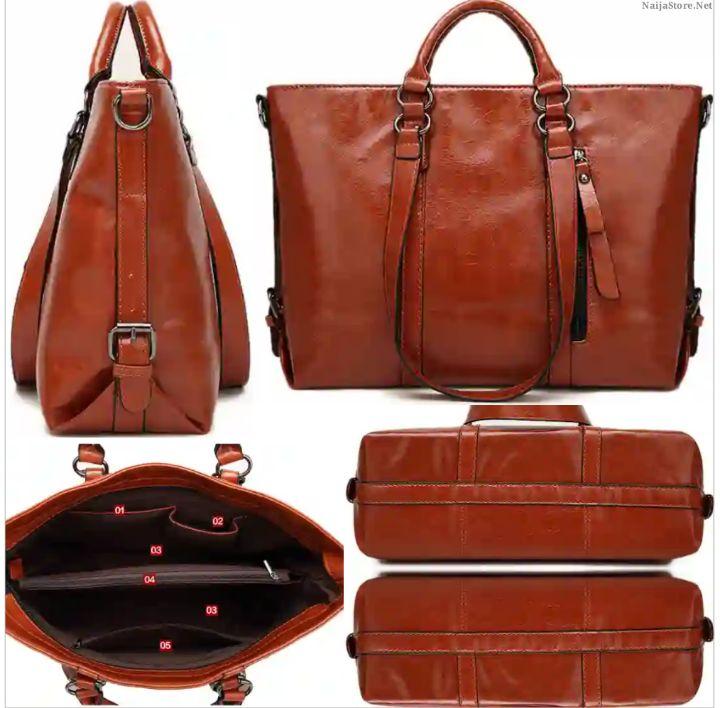 Minimalist Tote Handbag for Ladies - Fashionable Classic Shoulder Bag for Women