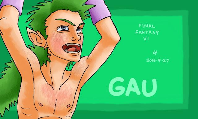 Final Fantasy, Gau