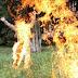 Man sets himself ablaze in Edo