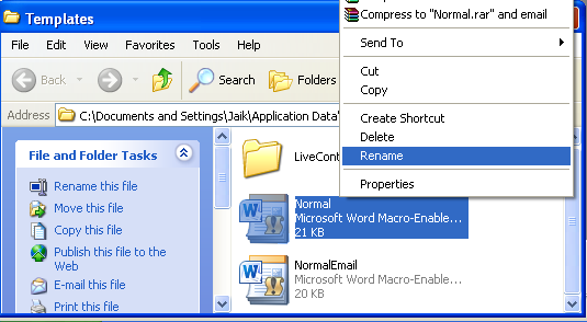 change the normal template in word 2010 - how to deal with ms word corruption ms office recovery