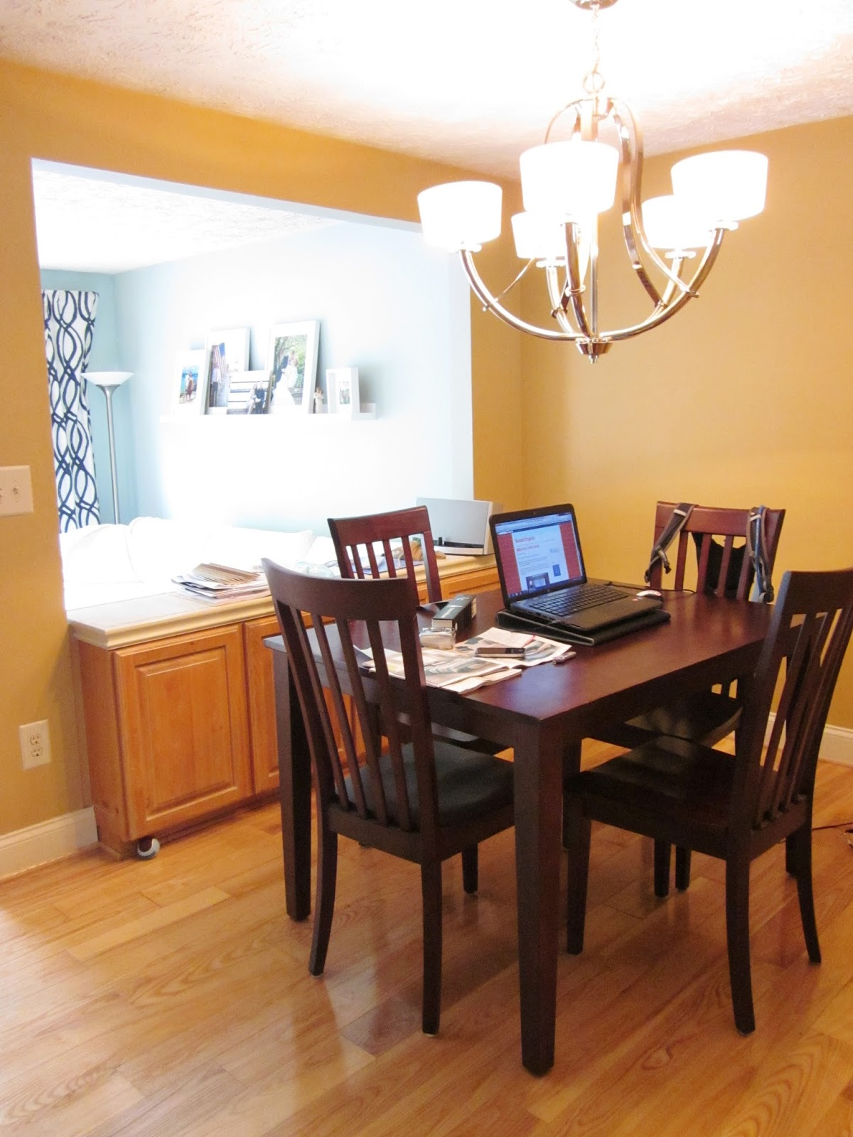 Bonnieprojects Choosing Paint Colors: BonnieProjects: Dining Room Update: Painted Walls + Trim