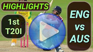 ENG vs AUS 1st T20I 2020