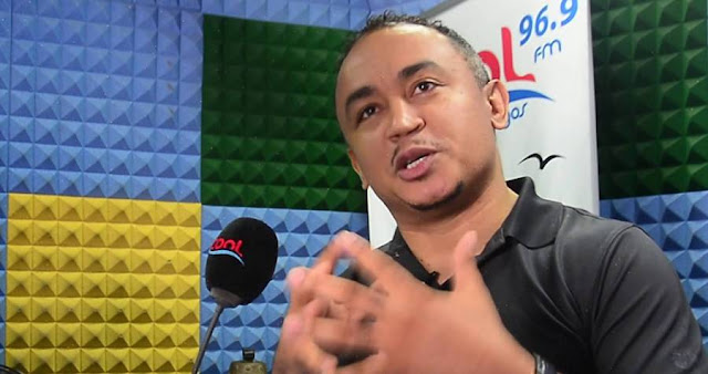 Controversial On Air Personality (OAP), Daddy Freeze, has written about Bishop David Oyedepo's $40million Bombardier Challenger Private jet in his Dominion Hangar at Lagos Airport.