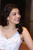 Kajal Aggarwal sizzles in Black Deep Neck Dress ~  Exclusive 001.jpg