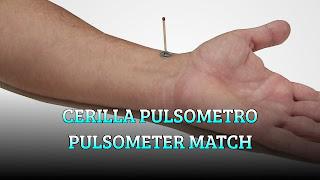 Cerilla pulsometro, HEART RATE, Pulsometer match